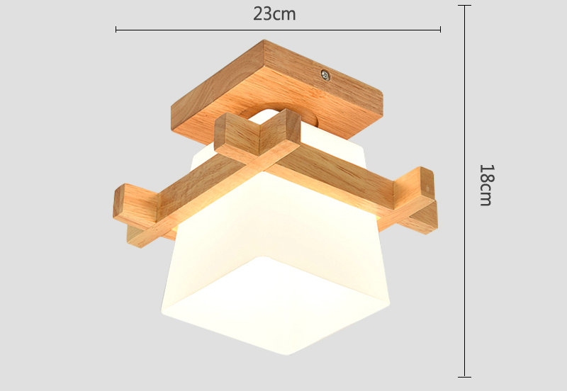 HTB1caksmXooBKNjSZPhq6A2CXXaM Lamp Shades | Glass Lamp Shades | Tatami Japanese Ceiling Light for Home Lighting E27 LED Ceiling Lamp Wood Base Hallways Porch Fixtures