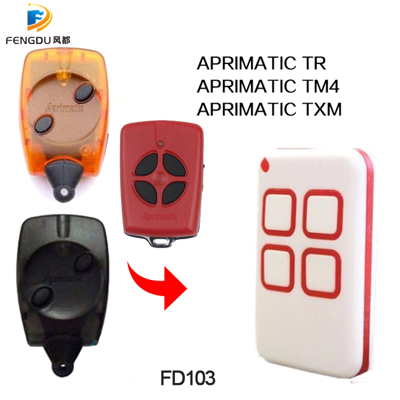 Clone Compatible For APRIMATIC TR TM4 TXM  433mhz 868mhz Remote Control Duplicator Auto Scan 4 In One Handsender Transmitter|Remote Controls| |  - title=