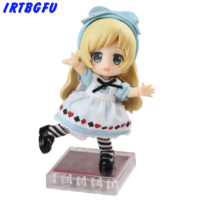 Cu-Poche Friends Alice Q Edition Small Clay High Quality Edition Beautiful Girl Action & Toy Figures Japanese Anime Figure Hot