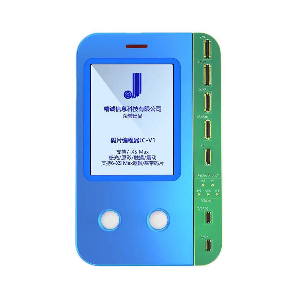 Gsmjustoncct capteur de lumière tactile vibrateur Multi lecture écriture récupération de données tout en un programmeur pour IPhone Xs XsMax X 8 Plus 8 7Plu