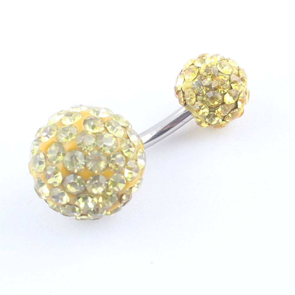lubingshine 10 мм Самба кристалл ditch кольца ferido шар шайбу шайбу бар двойной charity разбора ювелирные изделия для женщин