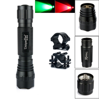 Uniquefire Cree Led Flashlight WF 501B XPE Zoom 5 Light Modes IP67 Waterpoof Material Lamp Torch