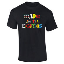 Mens Made in The 80's Retro TV Cartoons Logos T-shirt NEW S-XXL New T Shirts Funny Tops Tee New Unisex Funny Tops free shipping