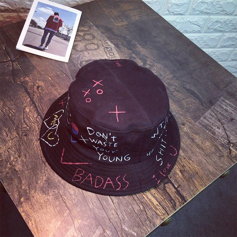 PPAN Flag Monaco Unisex Cotton Packable Black Travel Bucket Hat Fishing Cap