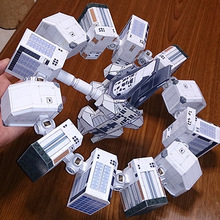 Paper Interstellar Cross Endurance- Fortitude Model Toys Handmade DIY creative Party show props decorate Gift  For Children