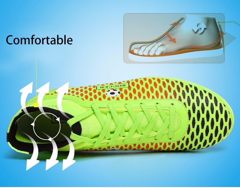 High Ankle Football Boots Kids Botines Botas Futbol 2017 Youth Superfly Soccer Sports Shoes Outdoor Training Sneakers Hot Sale4