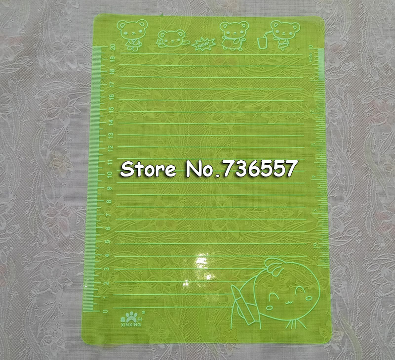 Transparent A5 Write Pads School Suppplies Papelaria 246x178mm 0.4mm Thick Paper Cutting Mat Test Plate Writing Pad