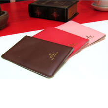 2019 Women Men PU Leather Cover on the passport ID Credit Card Passport cover Holderbrand Unisex Travel Passport Holder HOT !(China)