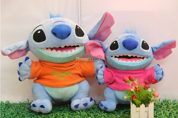 Fancytrader 24\'\' 60cm 2015 New Giant Plush Stuffed Stitch, 2 Colors Available Free Shipping FT90147 (4).jpg