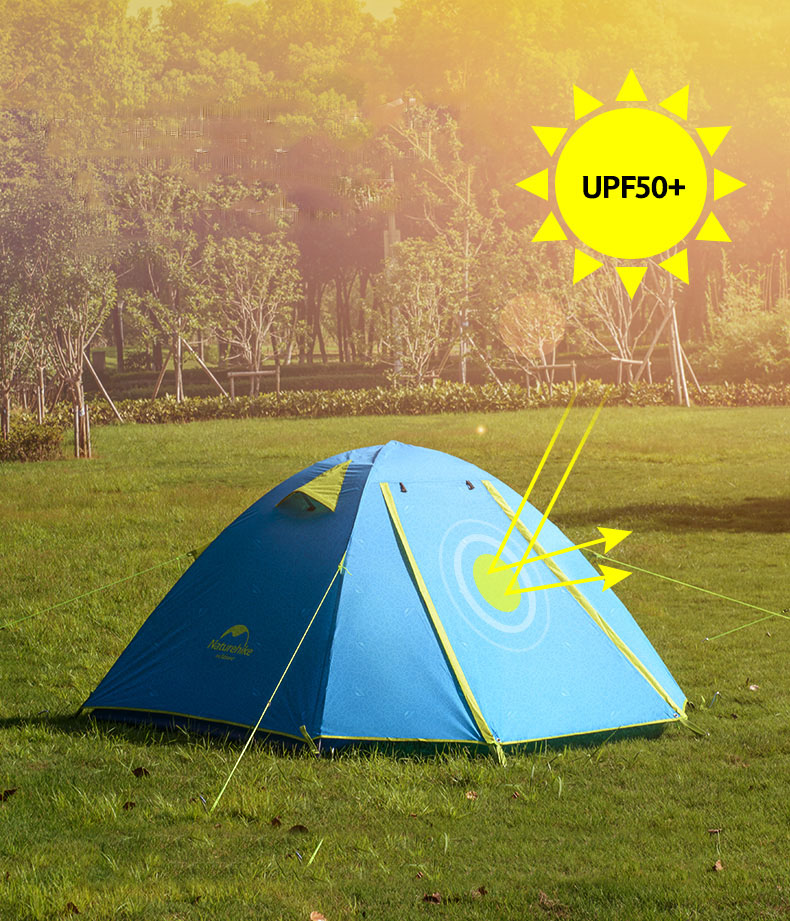 Ramdapro 2019 lanshan 2 Tent 2 Person Oudoor Ultralight Camping Tent 3 Season Professional 15D Silnylon Rodless Tent 4 Season