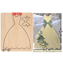 Full dress dies 2019 new die cut &wooden Suitable  for common cutting machines on the market
