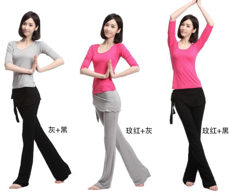 High quality  Three-piece set Women's Yoga training sets Modal yoga clothes yoga sport suit