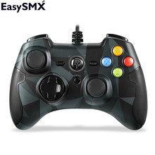 EasySMX ESM-9100 Wired Game Controller Gamepad Joystick with TURBO TRIGGER Button for PC PS3 TV Box Android Smartphone(China)