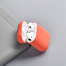 Wireless Bluetooth Earphone Case for Airpods Silicone Soft Rubber Full Protective Cover