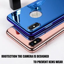 KINBOM Plating Case For iPhone XR  7 8 6 Plus 360°Full Protection X XS Max Smooth hard case