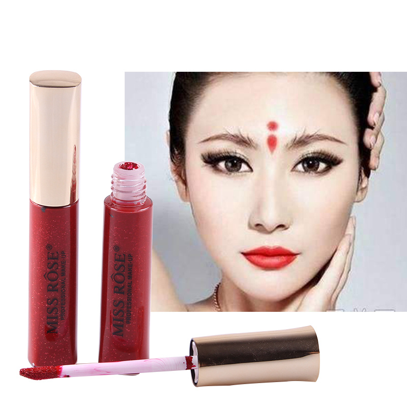 Makeup Earnest New Fast Drying Cinnabar Eyebrow Centre For India Women Children Use Long-lasting Body Paint Beauty Makeup Tslm1 Good For Antipyretic And Throat Soother