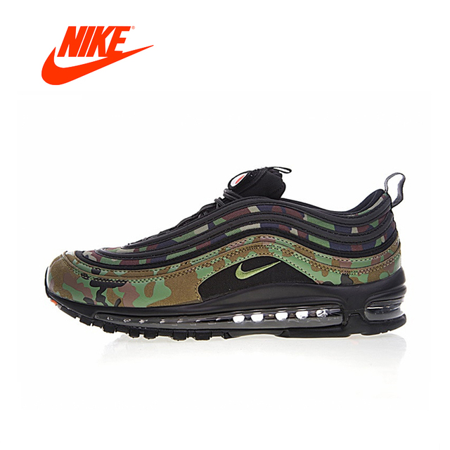 09798a6d29c7 Original New Arrival Official NIKE Air Max 97 Premium 97 Country Camo Japan  Men s Running Shoes AJ2614