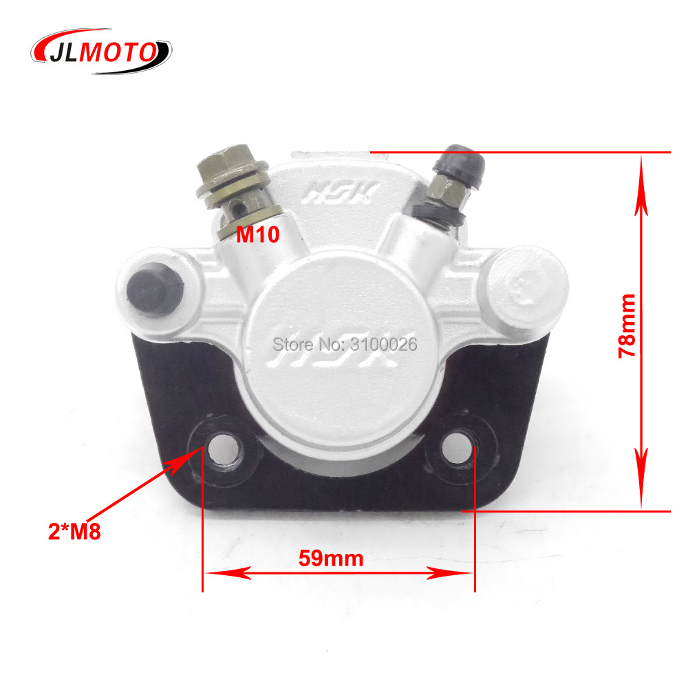 Rear Brake Caliper With 190mm Disc Fit For Jinling Taotao Sunl 125cc 250cc 200cc 500w Electric Quad Atv Utv Go Kart Buggy Parts Atv Parts & Accessories