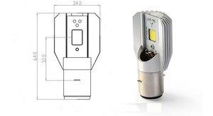 Image 2 - H6 BA20D conduziu a lâmpada