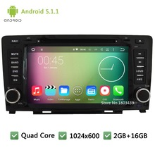 Quad Core 16GB Android 5.1.1 HD 1024*600 DAB+ 3G USB Car DVD Player Radio Audio Stereo Screen GPS For Great Wall Hover Haval H6