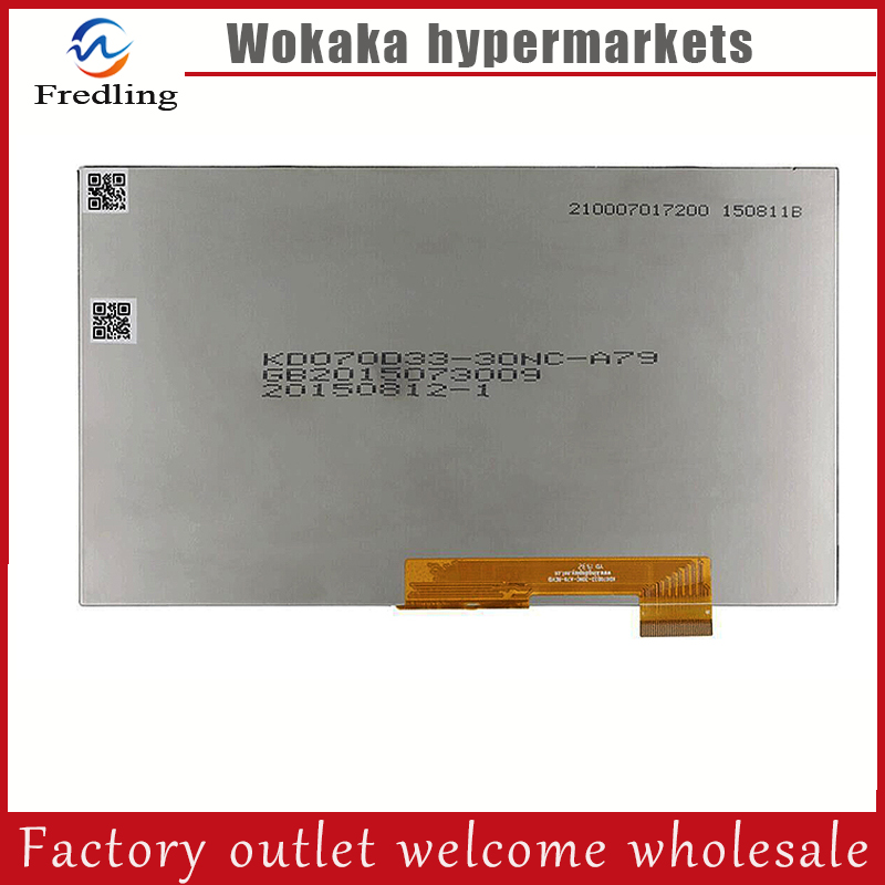 New 7 Inch Replacement LCD Display Screen For oysters pc i t72hm 3G tablet PC Free shipping original 7 inch tablet pc lcd display ba070ws1 401 lcd screen replacement free shipping