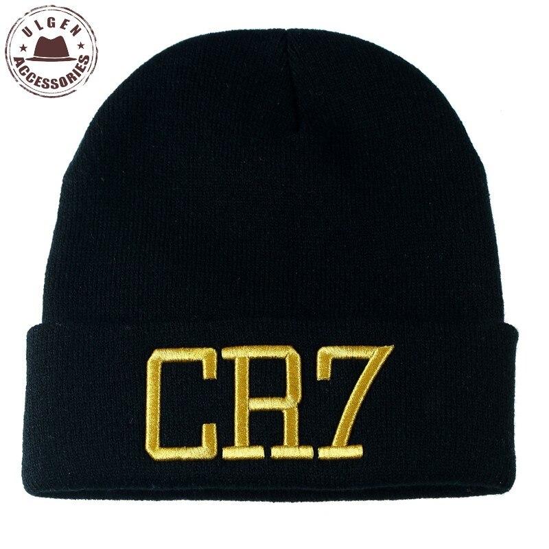 ULGEN Cristiano Ronaldo CR7 Hiphop Beanies Hat Unisex Knit Hat Fans' Caps