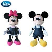 Disney Cowbo Mickey Mouse Minnie Plush Toys Doll Baby Boys Girls Stuffed Plush Toys Birthday Christmas