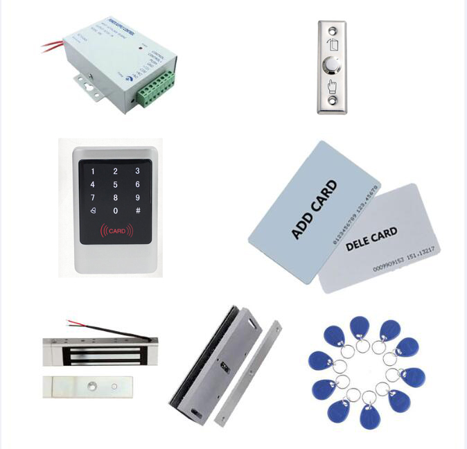 standalonle Metal Access control kit ,power+180kg magnetic lock+180kg U-bracket+exit button,10 keyfob ID tags,sn:Tset-4 унитаз подвесной vitra metropole без сидения укороченный 49 см 5671b003 0075