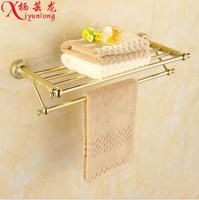 Bathroom Accessories New Factory Wholesale Gold Towel Rack Bathroom Toilet Continental Free Shipping