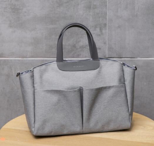 Новая сумка для мам, сумка для подгузников, сумки для детских путешествий, многофункциональная сумка для мам, модная сумка для подгузников, сумка-Органайзер для коляски с крюком - Цвет: 5