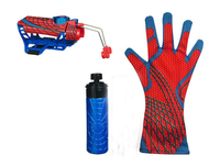 Spider man Cosplay mega blaster with gloves Launchers PVC Action Figure Collection Model Toy (Not Spidey Shot Web Fluid no box)