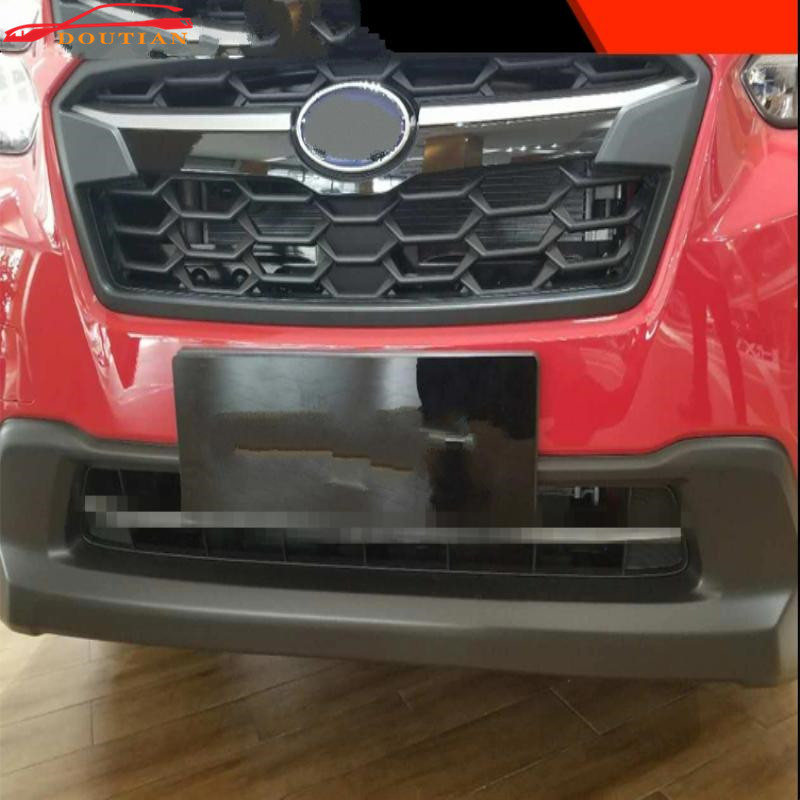 car styling for accessories subaru xv 2018 front grill trim strips cover abs chrome Racing Grills car sticker stickers 2pcs/set