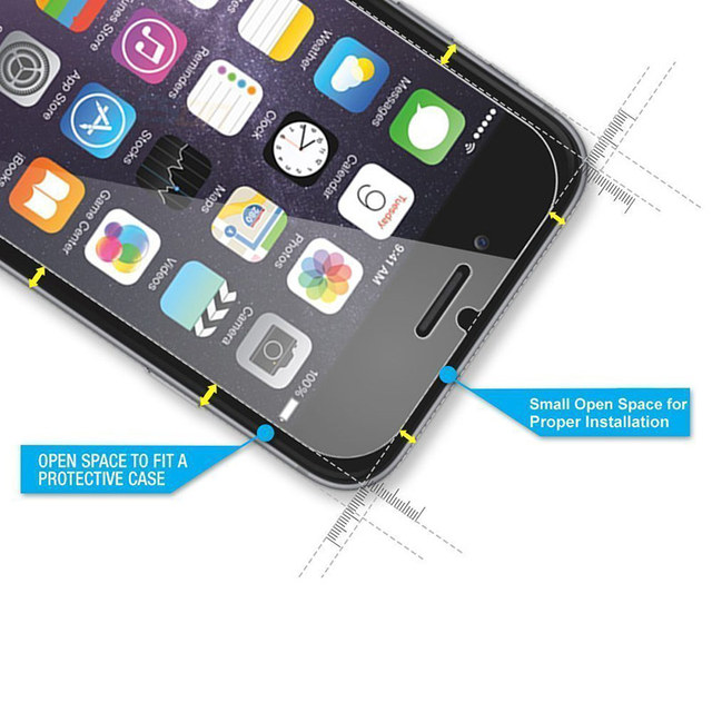 Protective tempered glass for iphone 6 7 5 s se 6 6s 8 plus XS max XR glass iphone 7 8 x screen protector glass on iphone 7 6S 8 2