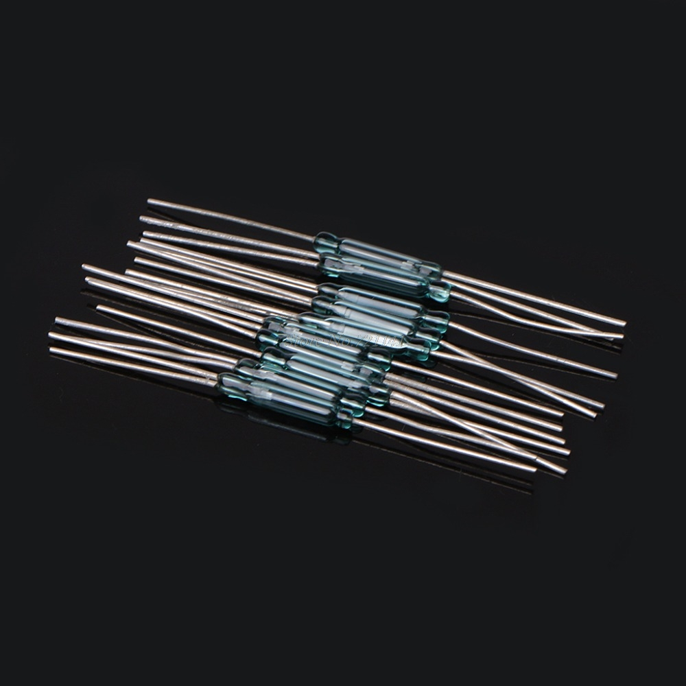 10 Pcs 25x14mm 4w 3 Pin Glass Reed Relay Magnetic Switches N O C Spst Wiring Diagram Spdt In Sensors From Electronic Components Supplies On