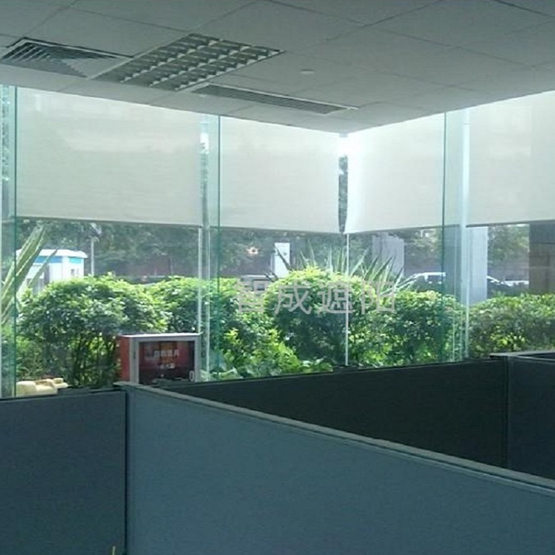 Dooya DM25TE tubular motor electric roller shades, size customed,wifi control acceptable,Noise less than 30DB