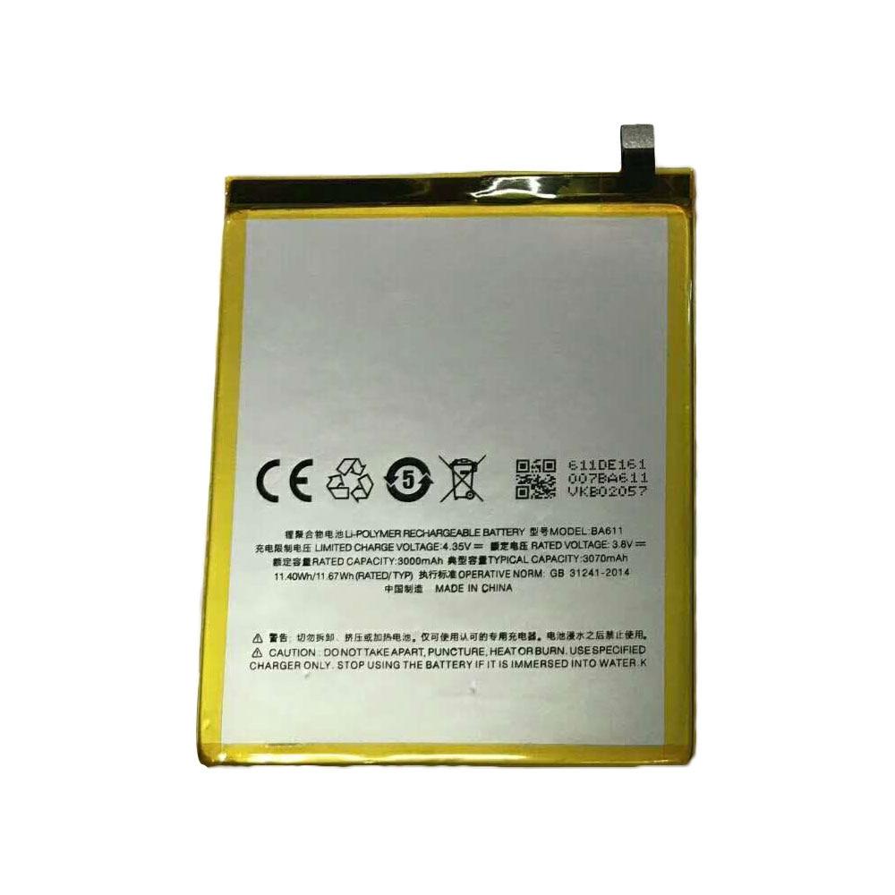 Dinto 1pc 3070mAh Batería Del Teléfono móvil de repuesto para Meizu M5 M611H baterías para Meilan 5