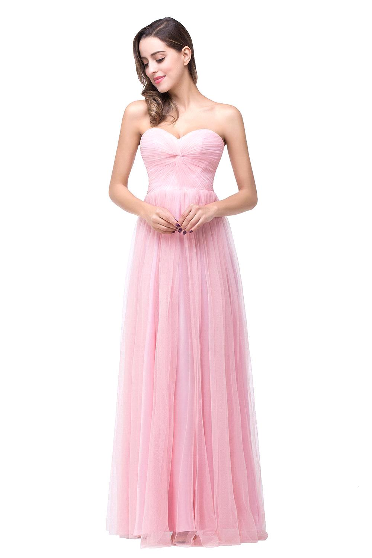 Traje de Demoiselle D\'honneur venta caliente Pink dama de honor ...
