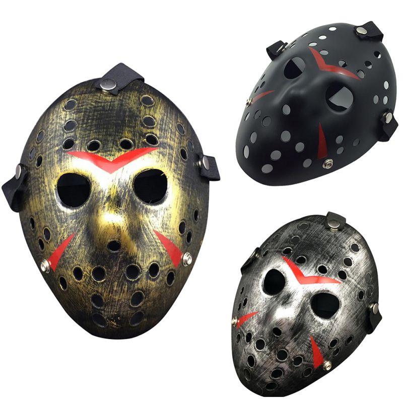 New Jason vs Friday The 13th Horror Hockey Cosplay Costume Halloween Killer Masquerade Mask Halloween mask ...