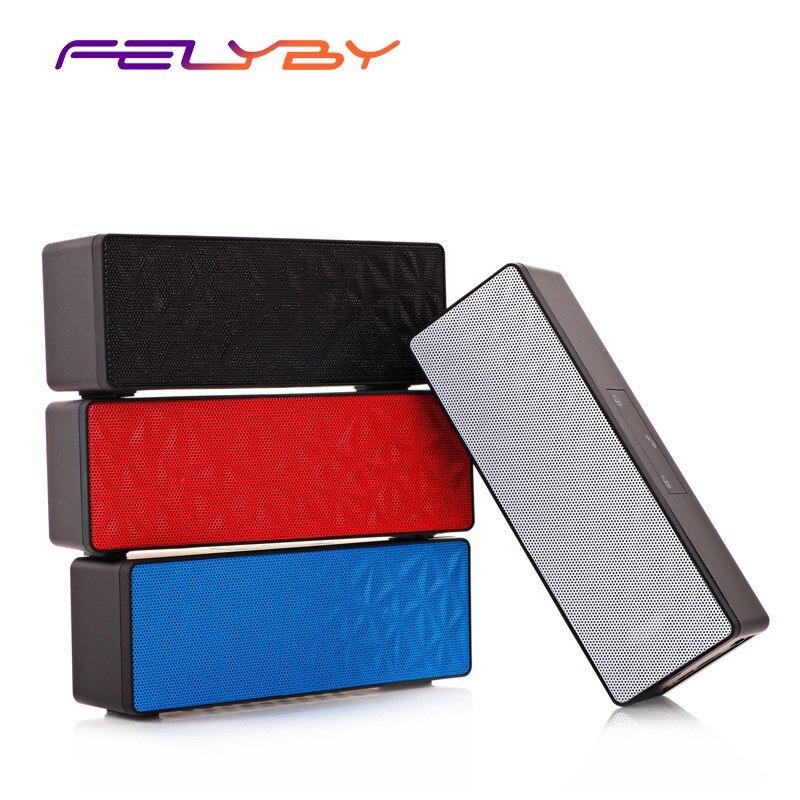 FELYBY N16 mains libres bouton tactile carte mémoire fonction Cube d'eau stéréo Bluetooth haut-parleur