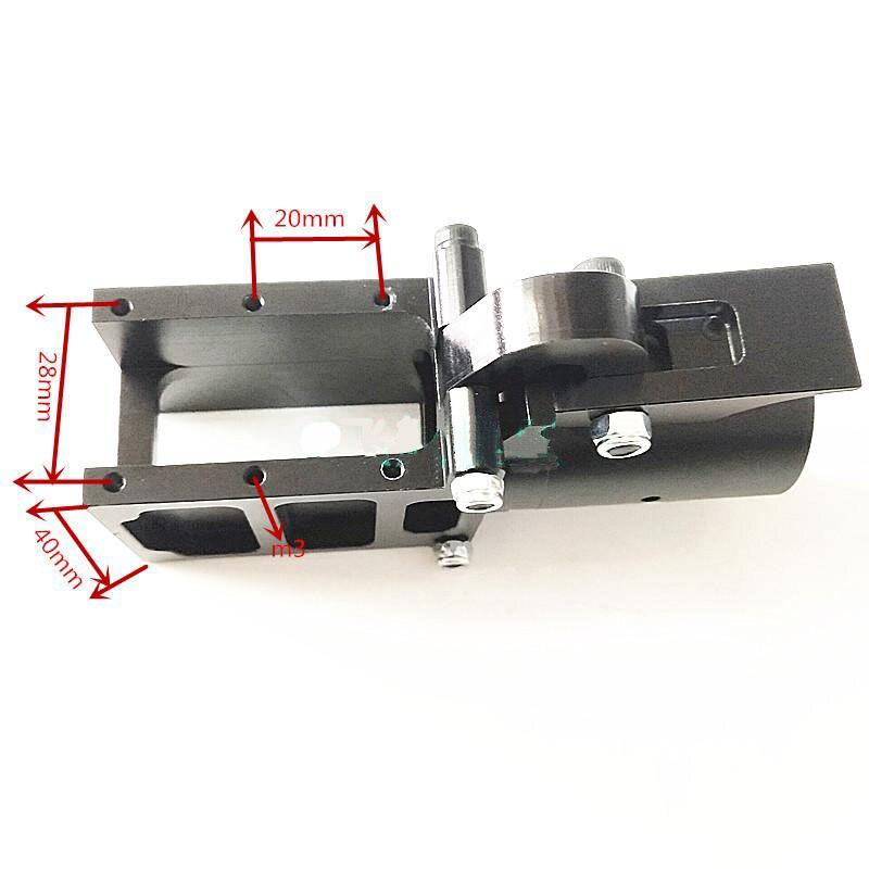 4 ชิ้นอลูมิเนียมพืช Multirotor UAV D30mm อัพเกรดพับแขน 30 มิลลิเมตร Dia กรอบคาร์บอนที่นั่งคงที่ Clamp joint Adapter-ใน ชิ้นส่วนและอุปกรณ์เสริม จาก ของเล่นและงานอดิเรก บน   3