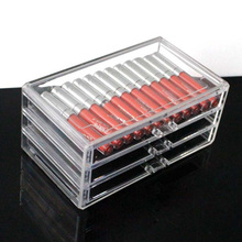 Clear Acrylic Lipstick Makeup Storage box
