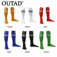OUTAD/1 пара спортивных носков, леггинсы, netherсток, футбольные бейсбольные футбольные носки выше колена, носки для мужчин и женщин, акция