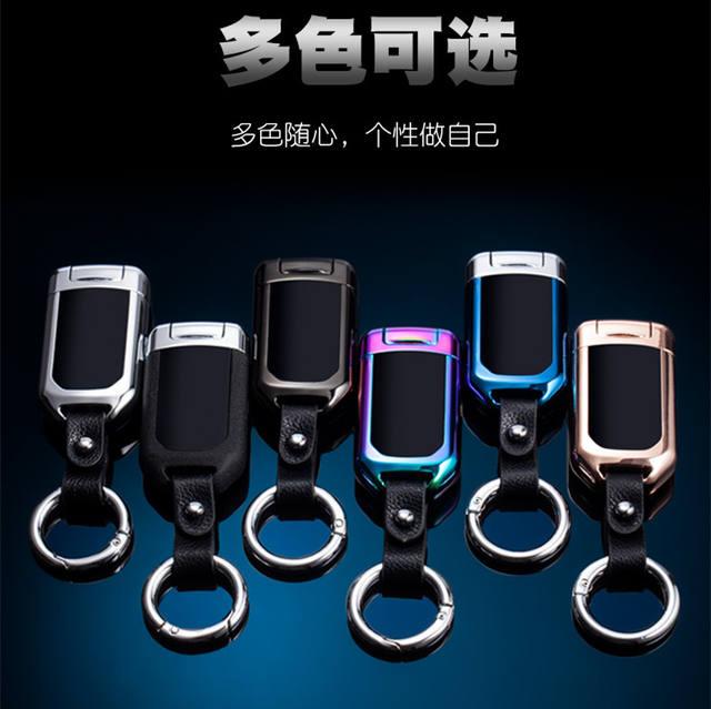 USB Thunder fingerprint Lighter Electronic Lighter