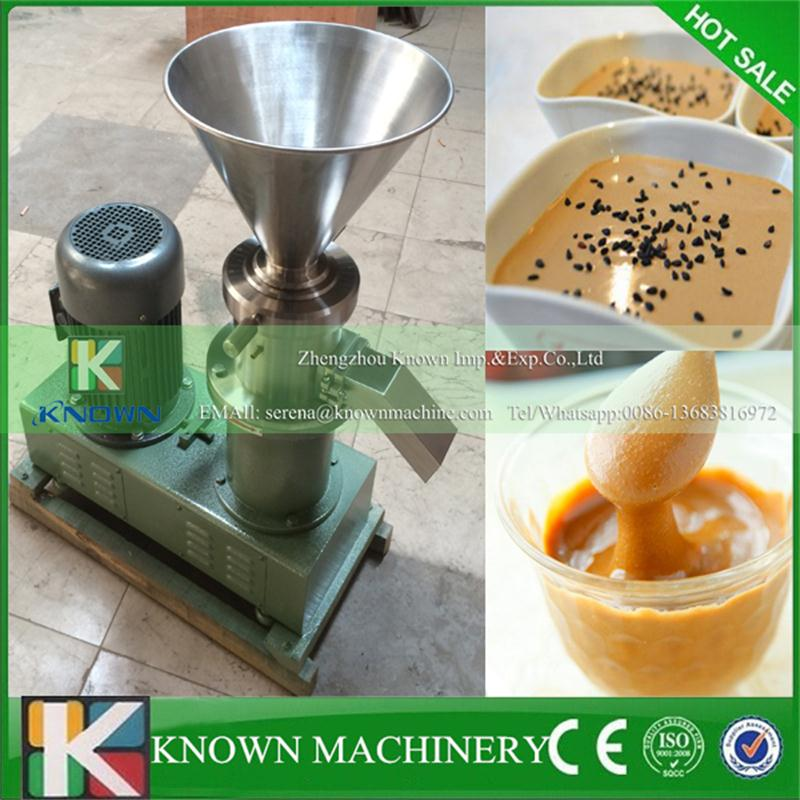 Fit for many industry stainless steel bean peanut sesame chocolate, soy sauce, jam seeds grinder colliod mill machine