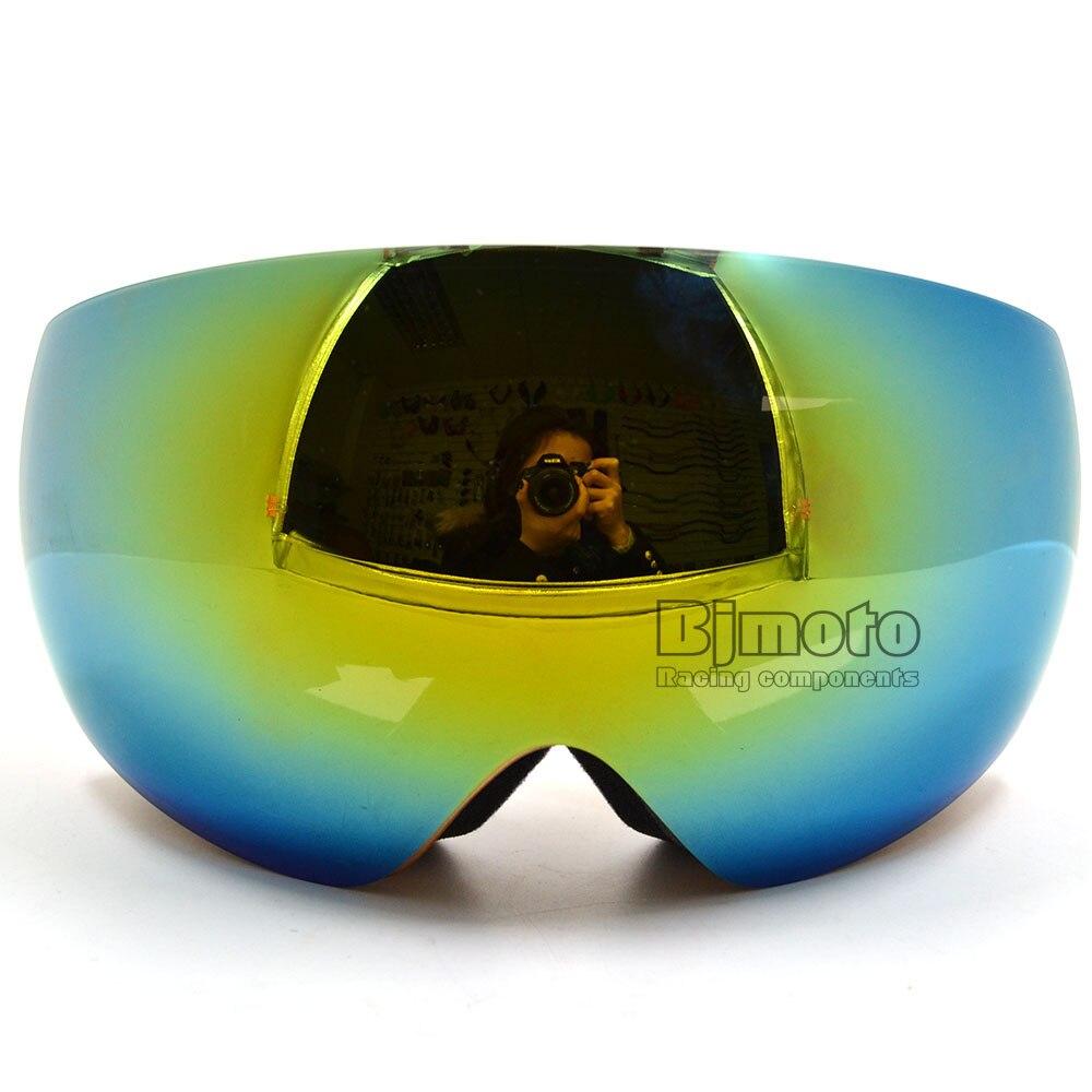 MG-018A Fashion Motocross Goggles Eyewear Snow Snowboarding Glasses Snow UV Protection Multi Double Anti Fog Lens Skiing Goggle
