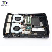 Двойной вентилятор высокой конфигурации для игры суперкомпьютер i7 6700hq DDR4 NGFF Дискретная max 32 г Оперативная память 4 ядра Мини ПК