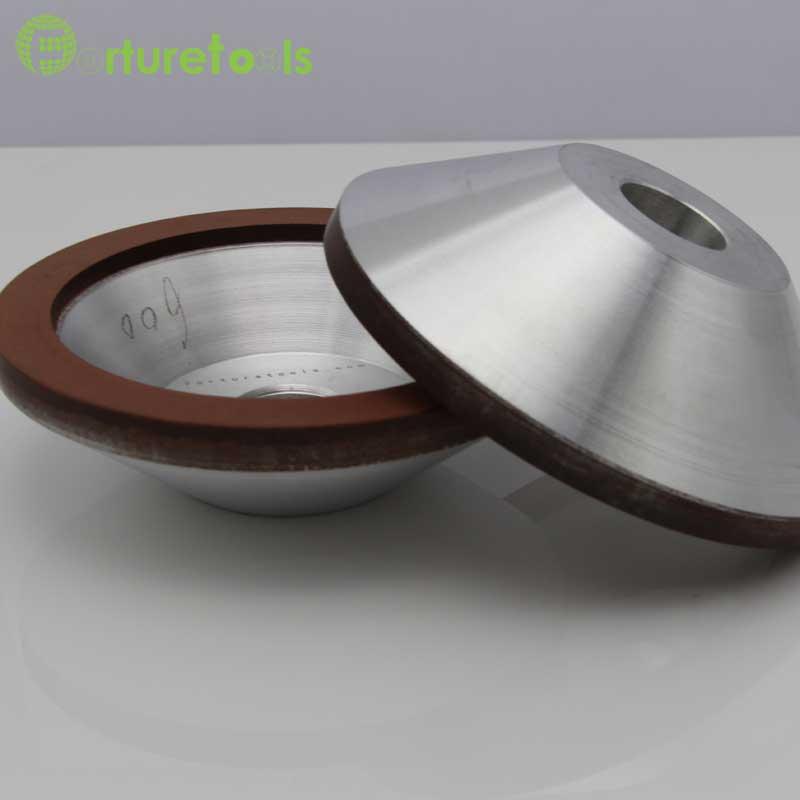 4 tums brinnande diamantkoppshjul för volframkarbid hårdlegering - Slipande verktyg - Foto 2