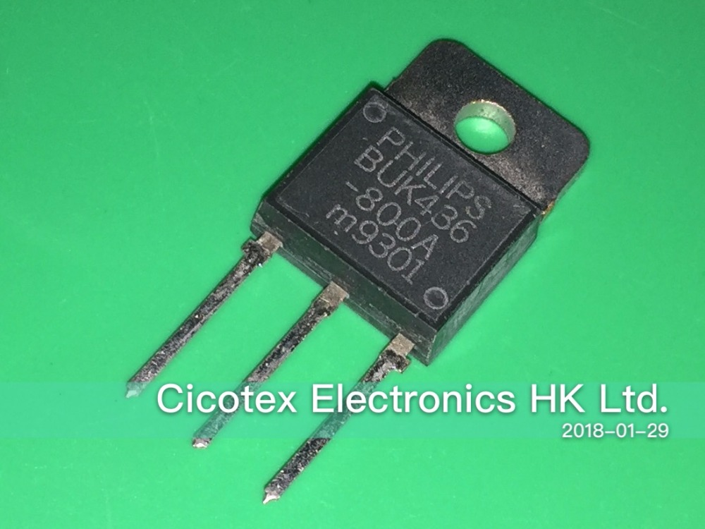 Licht & Beleuchtung Brillant 5 Teile/los Buk436-800a To-3p To218 Powermos Transistor Power Mosfet Buk436800a