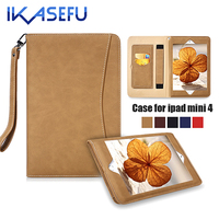 Case For Apple Ipad Mini 4 Case For Ipad Mini4 Luxury Leather Stand Cover Case For
