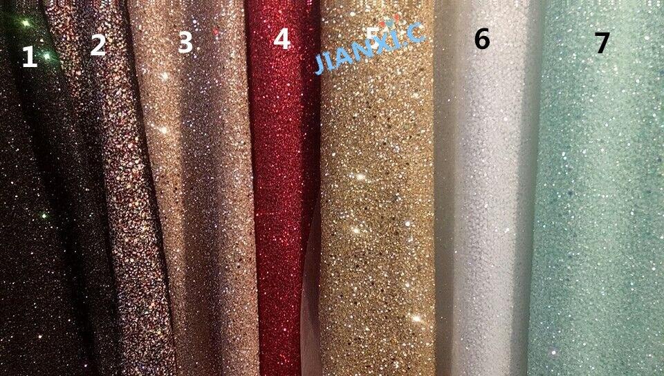 Ev ve Bahçe'ten Dantel'de Moda JIANXI.C 121691 afrika glitter dantel kumaş parti elbise için 5 yard/lot işlemeli tül dantel yapıştırılmış glitter'da  Grup 1